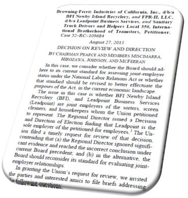 BFI NLRB Case