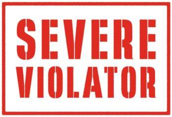 Severe Violator Image