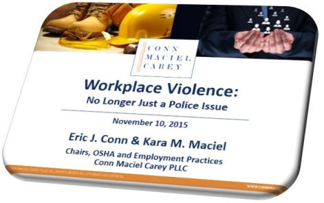 Workplace Violence Webinar Cover Slide