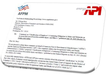 AFPM Comments