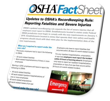 Reporting In-Patient Hospitalizations to OSHA: Common