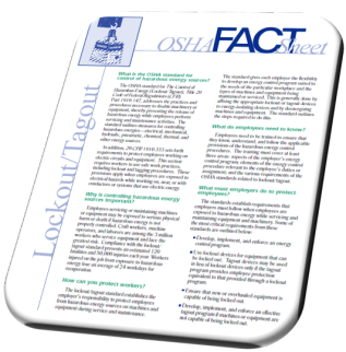 Unlock the Mysteries of OSHA's Lockout/Tagout Rule (PART 2