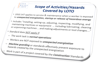 Unlock The Mysteries Of Osha S Lockout Tagout Rule Part 2 Of 2