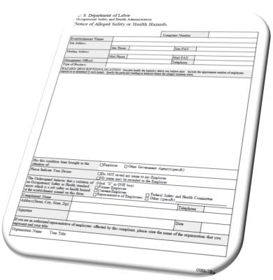 Responding to OSHA 11(c) Retaliation Charges, Employee