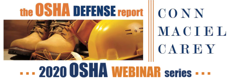 2020 OSHA Webinar Series Logo