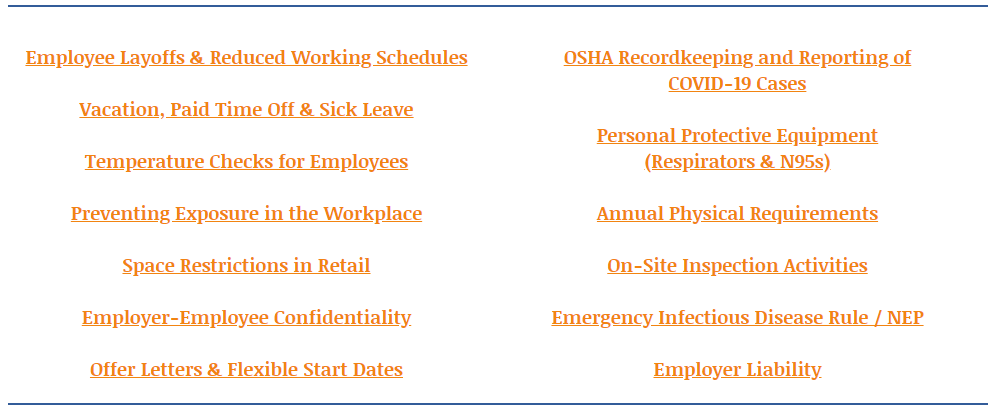 COVID FAQs Image