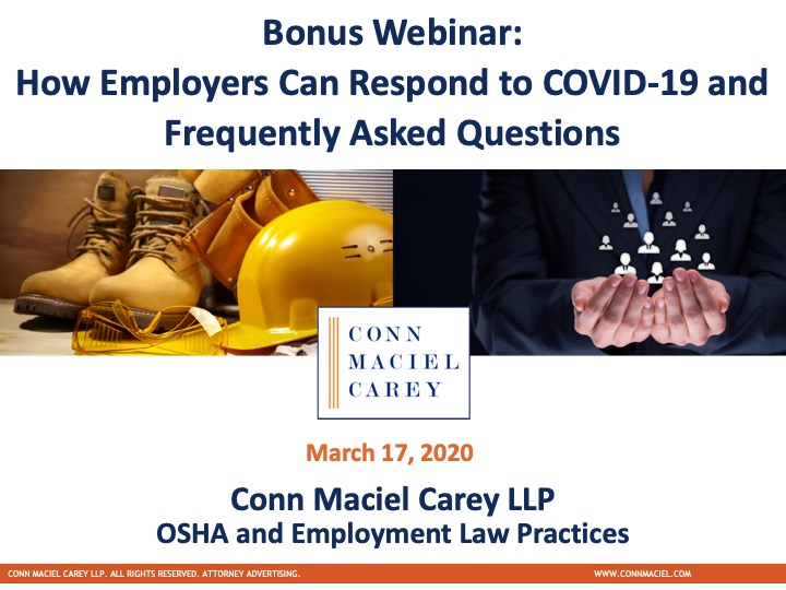OSHA Employment Crossover Webinar (Dec. 2019)