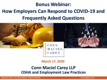 OSHA Employment Crossover Webinar (Dec. 2019)